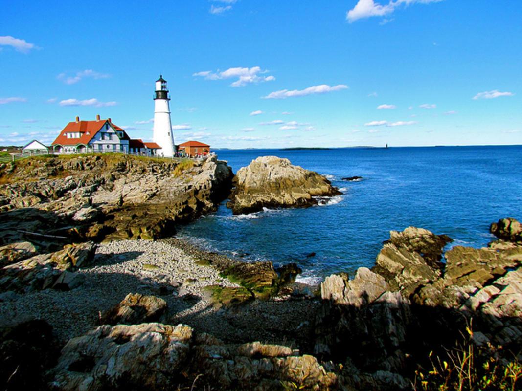 """Portland, Maine"" by Jeff Gunn via Flickr Creative Commons"