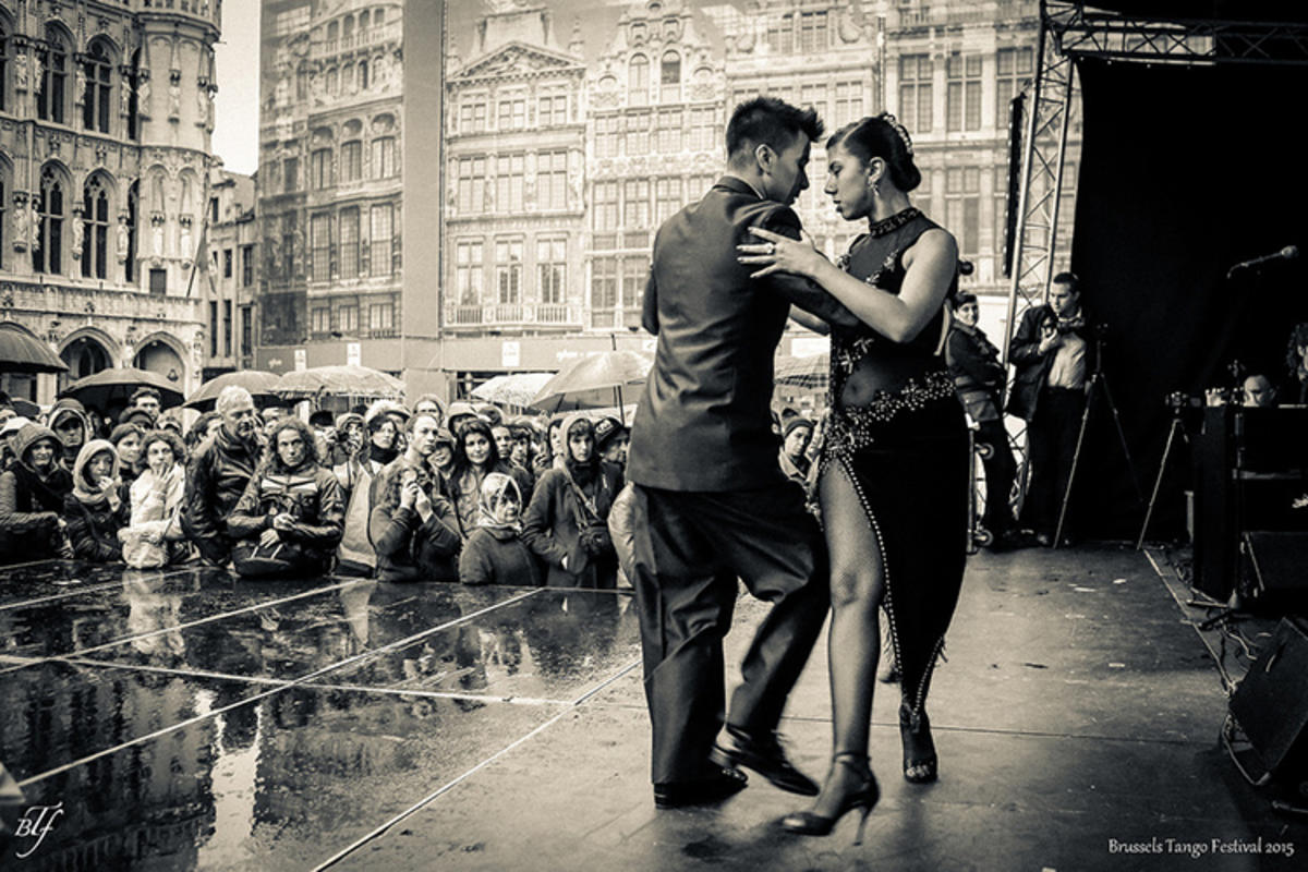 """""""Brussels Tango Festival 2015 """" by Peter Forret via Flickr Creative Commons"""