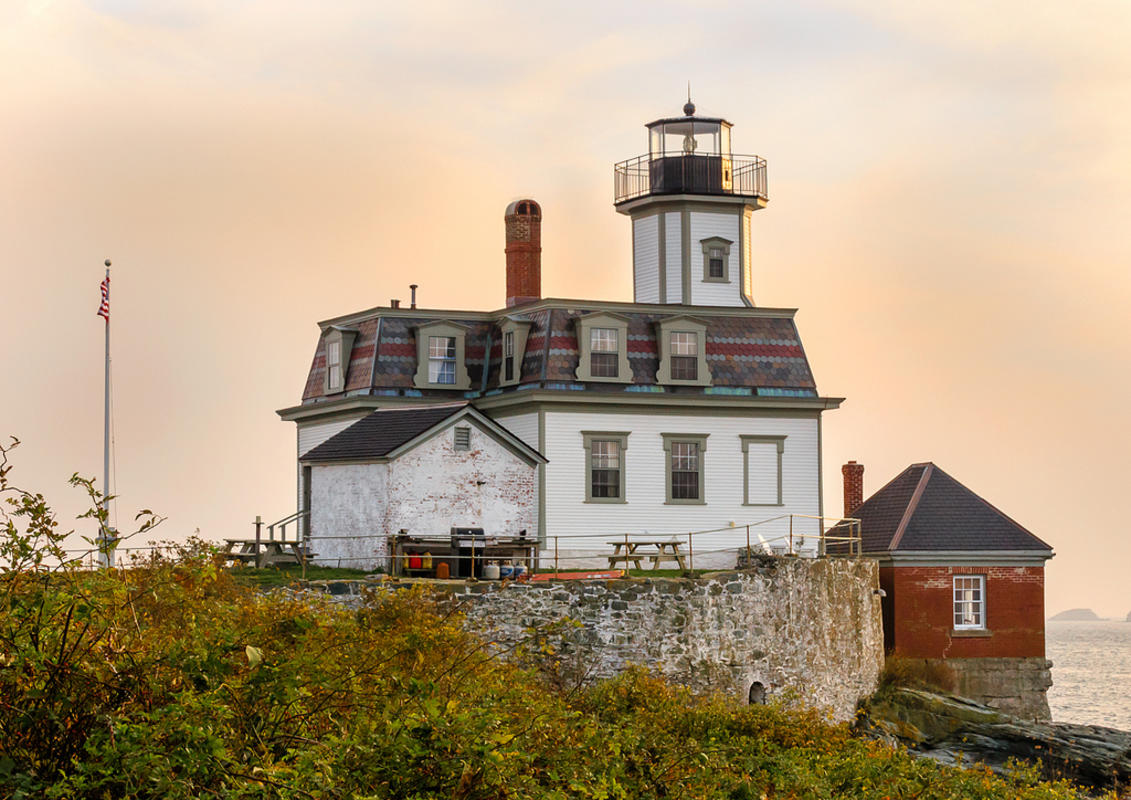 Try your hand at managing a lighthouse by signing up for the Rose Island Lighthouse's volunteer program. Photo Credit: John Cook via Flickr