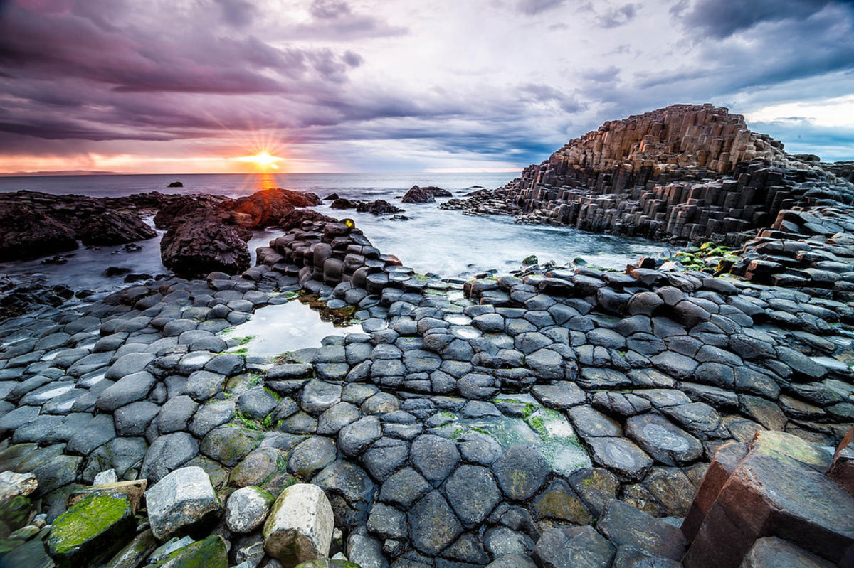 The Giant's Causeway in Northern Island is the stuff of legends. Photo Credit: Stefan Klopp via Flickr