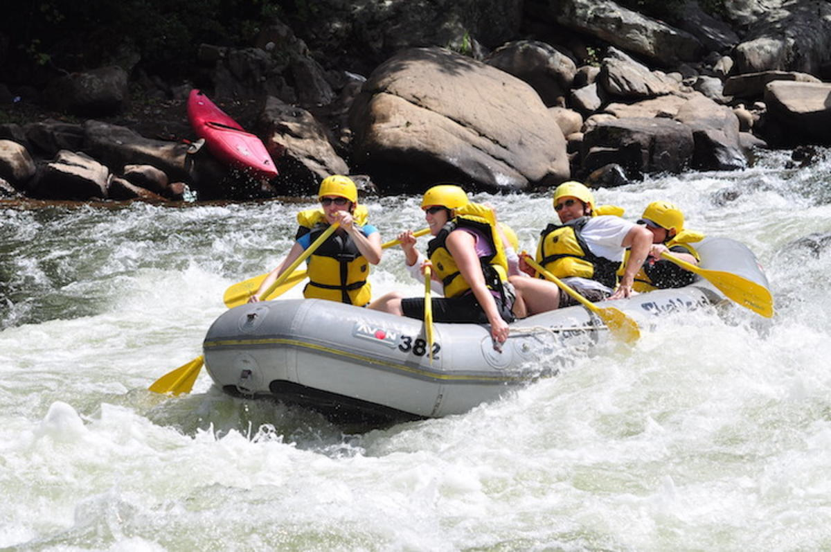 """Rafting"" by Michelle via Flickr Creative Commons"