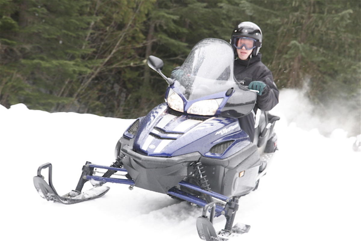 """Snowmobiling!"" by Paul Williams via Flickr Creative Commons"