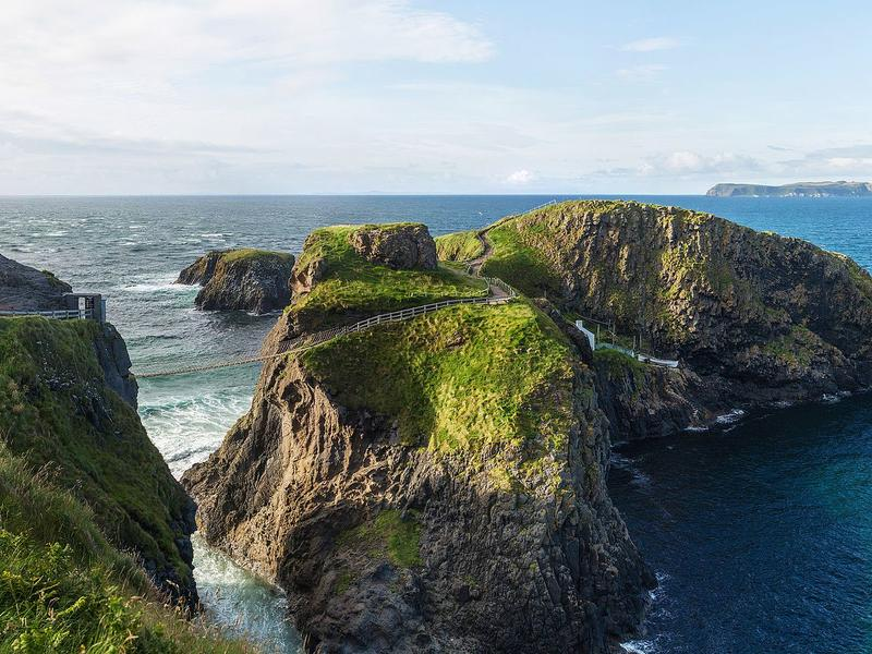 Carrick a rede rope bridge  northern ireland   diliff