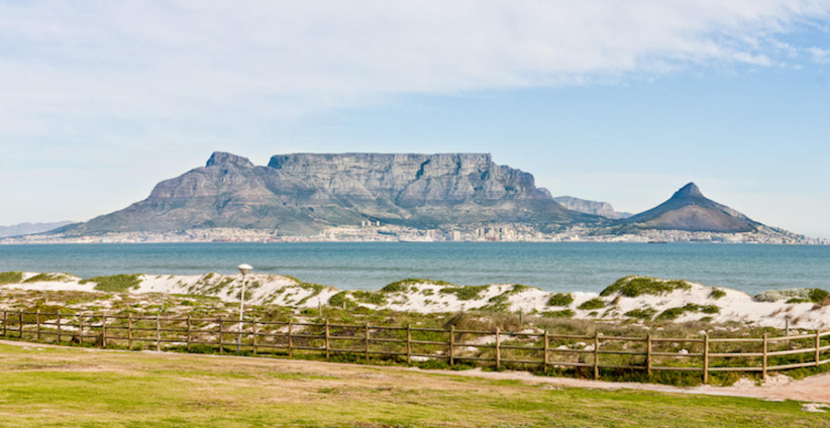 """Table Mountain"" by Neville Nel via Flickr Creative Commons"