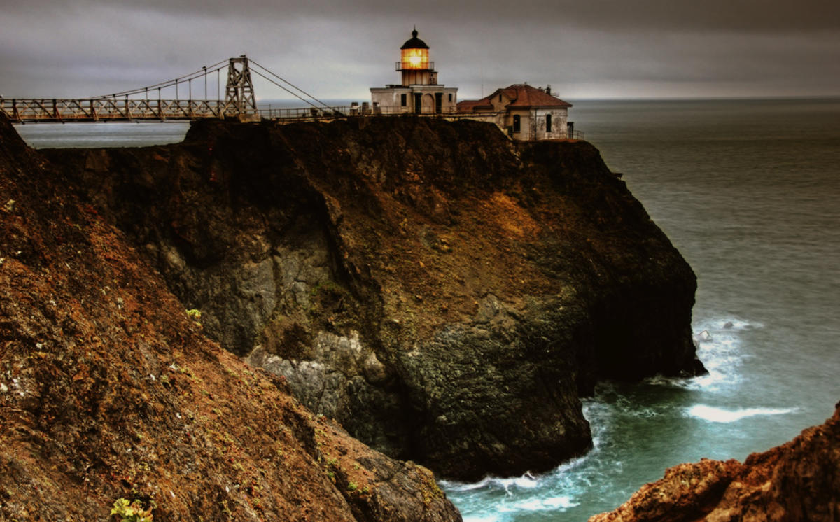"""Point Bonita Lighthouse (Part Deux)"" by Tony Goulding via Flickr Creative Commons"