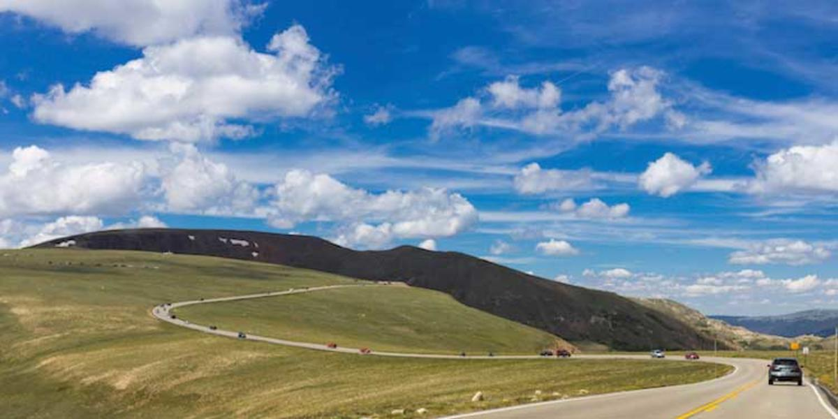 """Trail Ridge Road, Rocky Mountain NP, CO"" by Cumulus_Humilis via Getty Images"