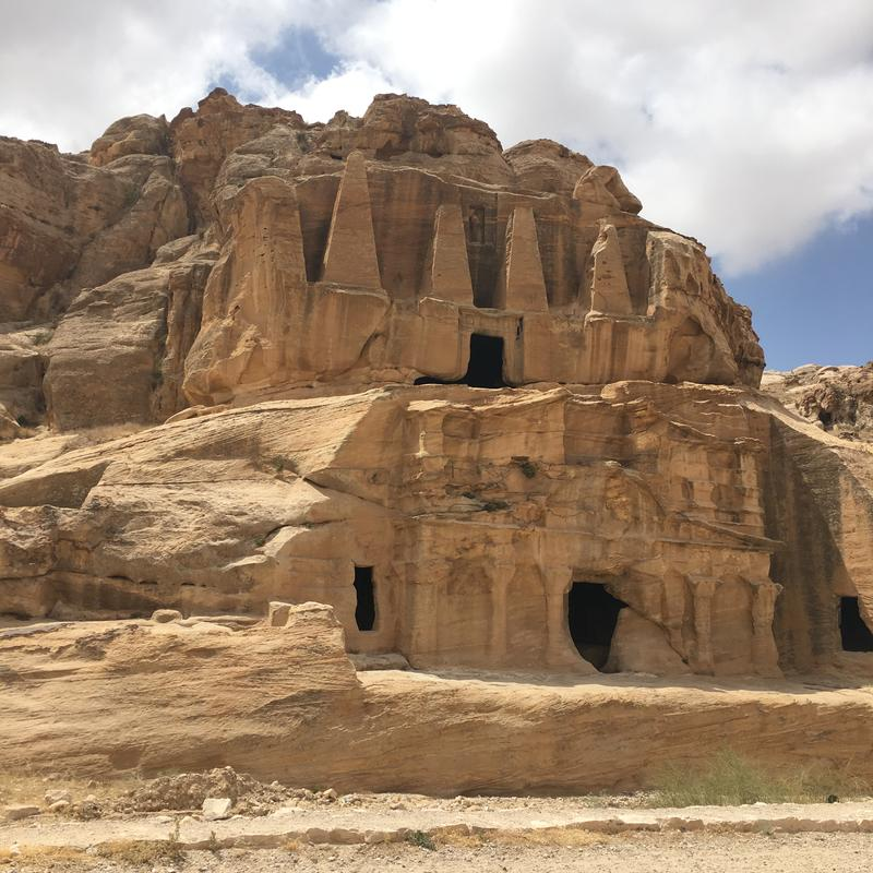 The Obelisk Tomb is one of the first sites you'll see at Petra. (Photo Credit: ©Joni Sweet)