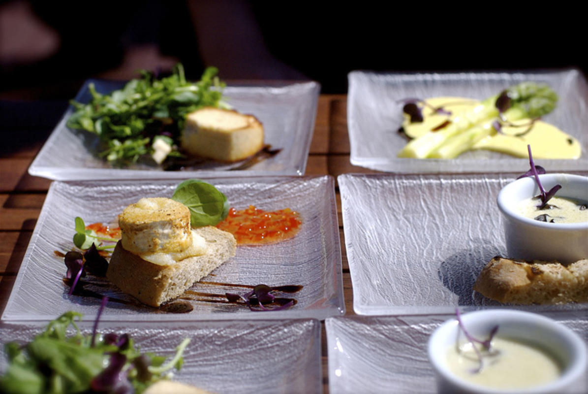 A variety of tapas plates // Photo Credit: Ville Miettinen