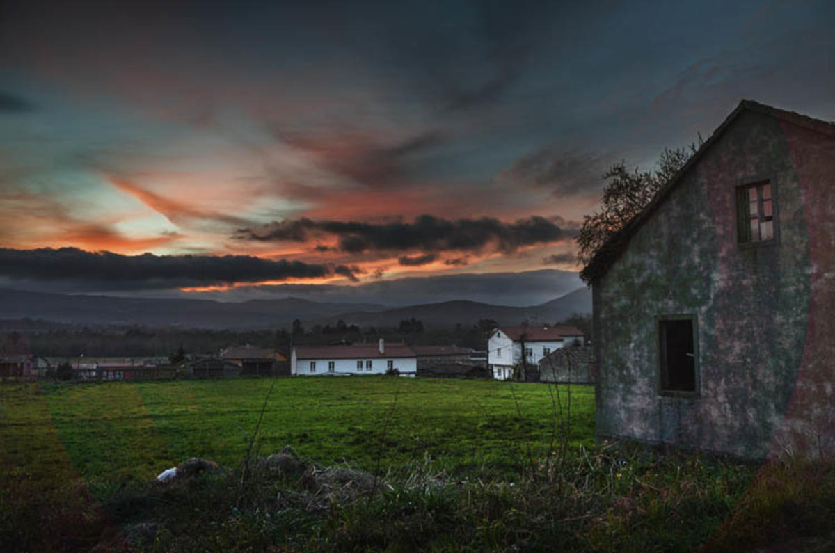 Landscape in Galicia // Photo Credit: Feans