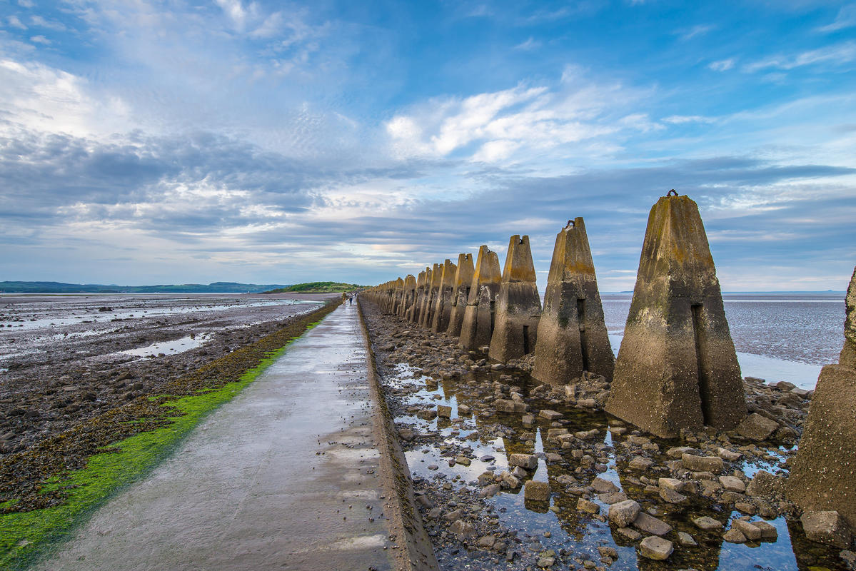 """Cramond Island Causeway"" by Chris Combe via Flickr Creative Commons"