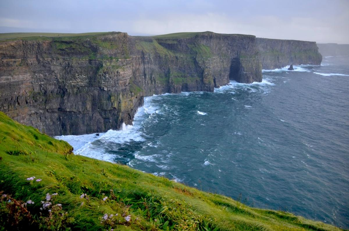 Cliffs of Moher by tsiubiu