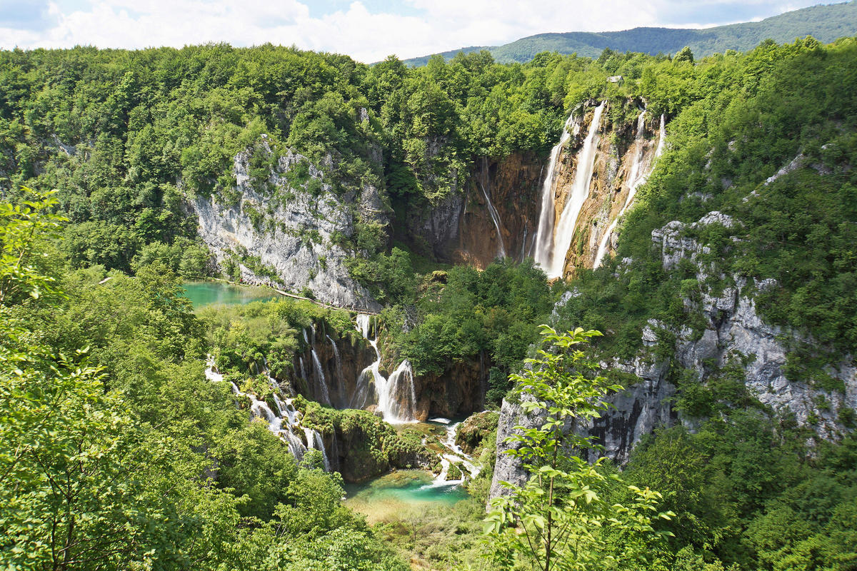 Plitvice Lake National Park by Dennis Jarvis