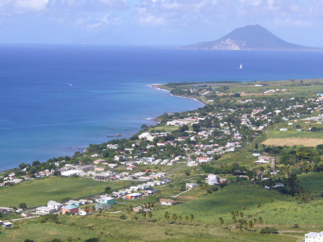 """A view towards St. Eustatius from Fort Brimstone at St. Kitts"" by Jukka via Flickr Creative Commons"