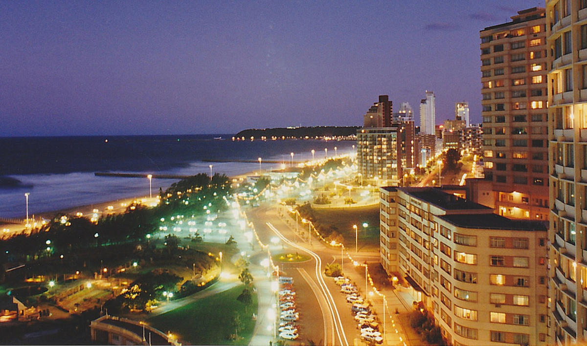 Durban_Night_South Africa by Ian via Flickr Creative Commons