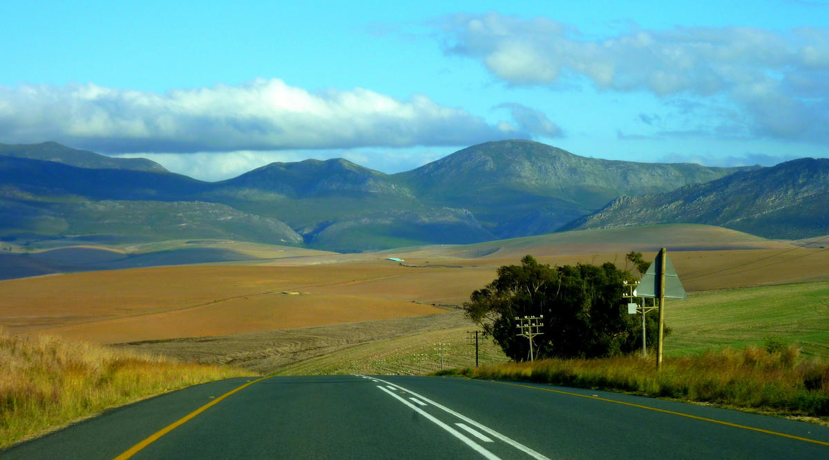 Rolling Farmland - Western Cape - South Africa by Christopher Griner via Flickr Creative Commons