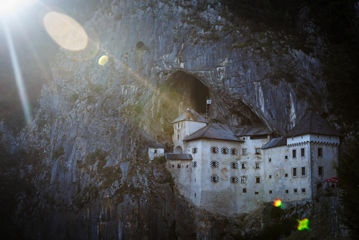 Predjama Castle, Slovenia by Gilad Rom via Flickr Creative Commons