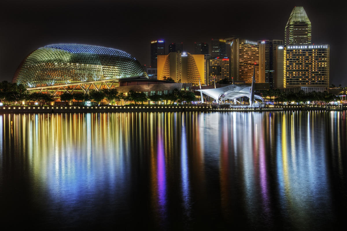 Explanade, Singapore [Explore] by Kah-Wai Lin via Flickr Creative Commons