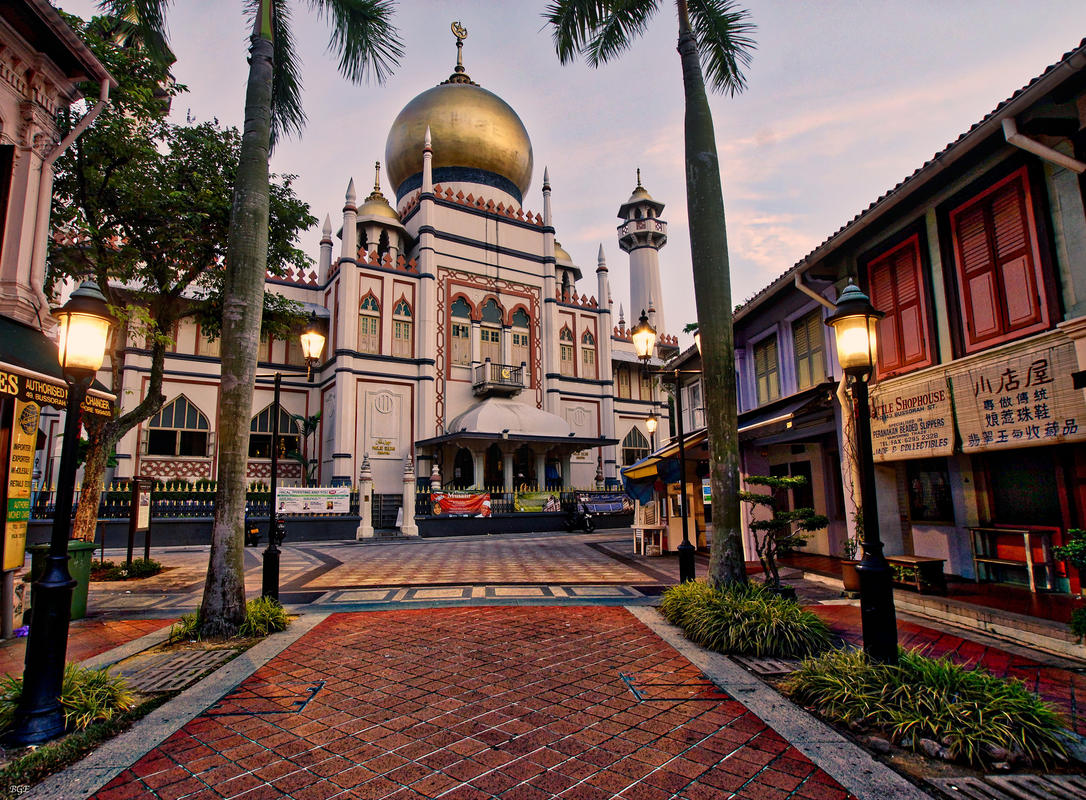 Arab St Mosque Singapore by Brian Evans via Flickr Creative Commons