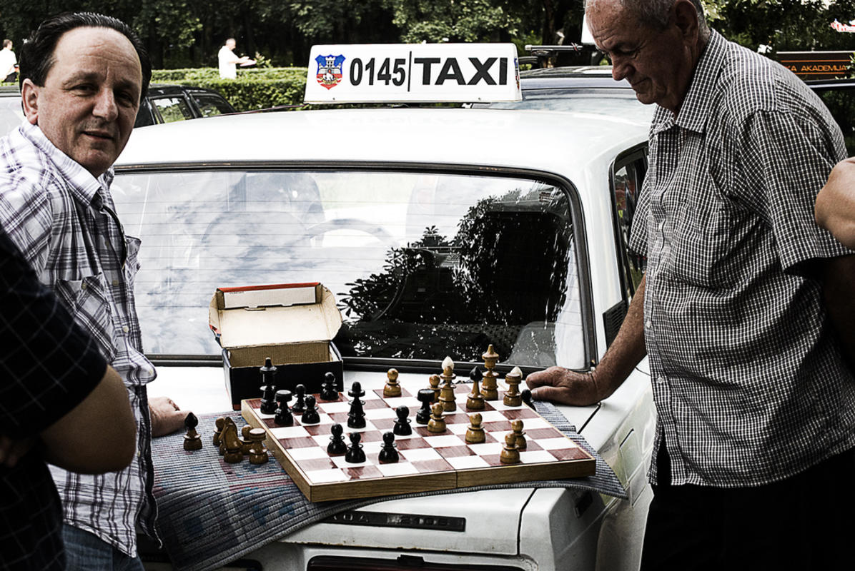 Taxi drivers, Serbia style by Sue Hixson via Flickr Creative Commons
