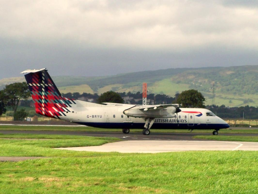 G-BRYU DHC-8 British Airways by Robert Orr via Flickr Creative Commons