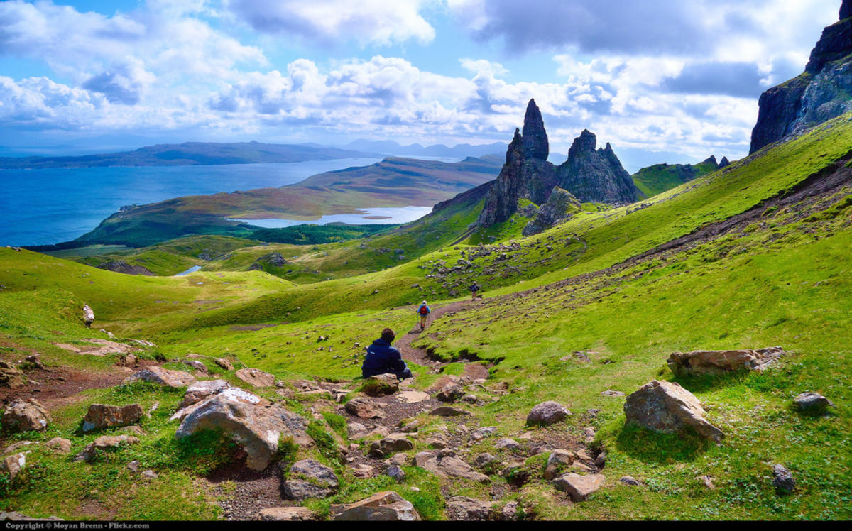 Scotland by Moyan Brenn via Flickr Creative Commons