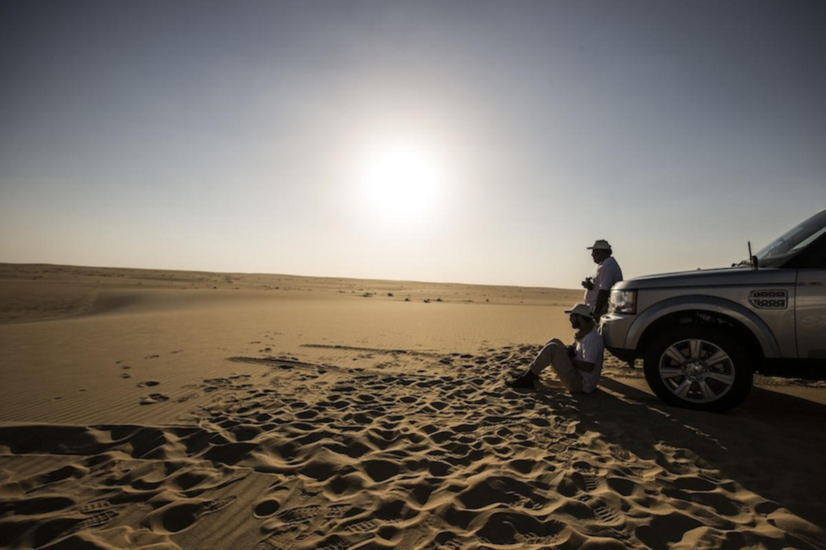 New Range Rover Sport | The Empty Quarter Driven Challenge by Land Rover MENA via Flickr Creative Commons
