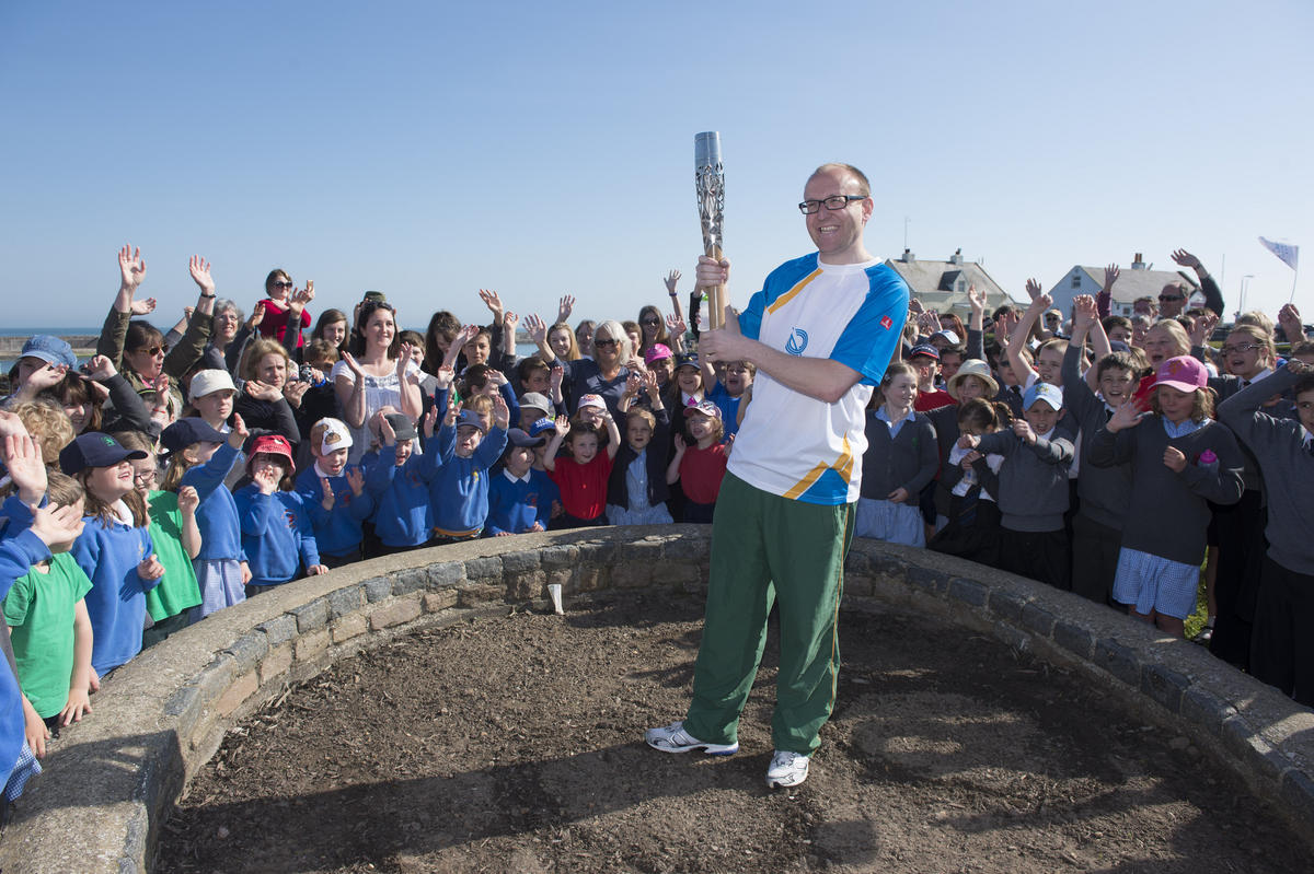 Queen's Baton Relay visits Alderney, Sark & Herm by Guernsey Sports via Flickr Creative Commons