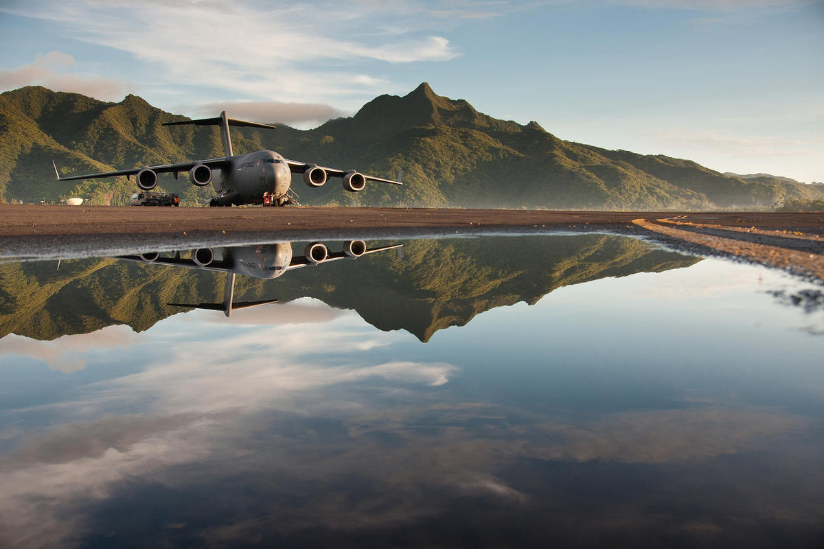 Reflections by US Air Force via Flickr Creative Commons