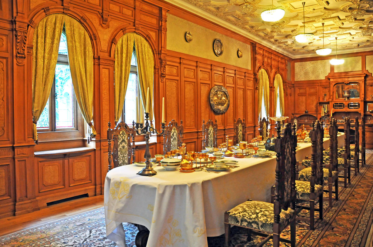 Romania-1718 - Dining Room by Dennis Jarvis
