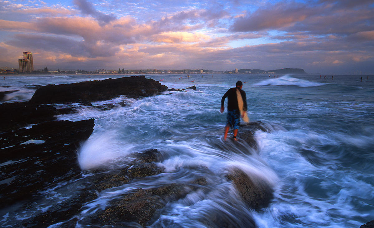 Currumbin Surfer QLD by Mark Wassell via Flickr Creative Commons