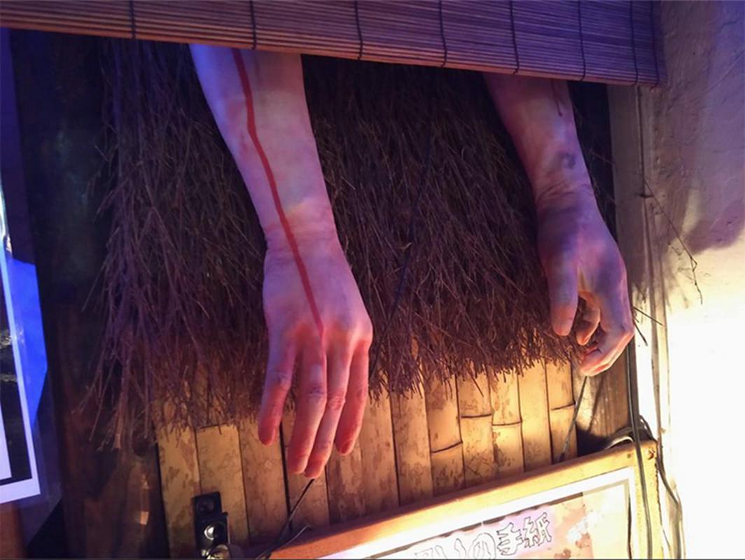 """Visiting Yurei izakaya, the Ghost Bar in Japan at Kichijōji"" by Inuki Cosplay via Facebook"