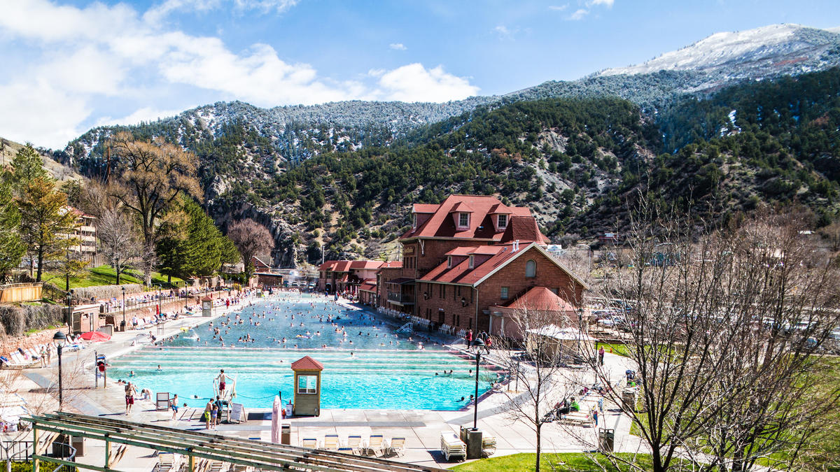 """Hot Springs - Glenwood Springs, CO"" by Jason Cipriani"