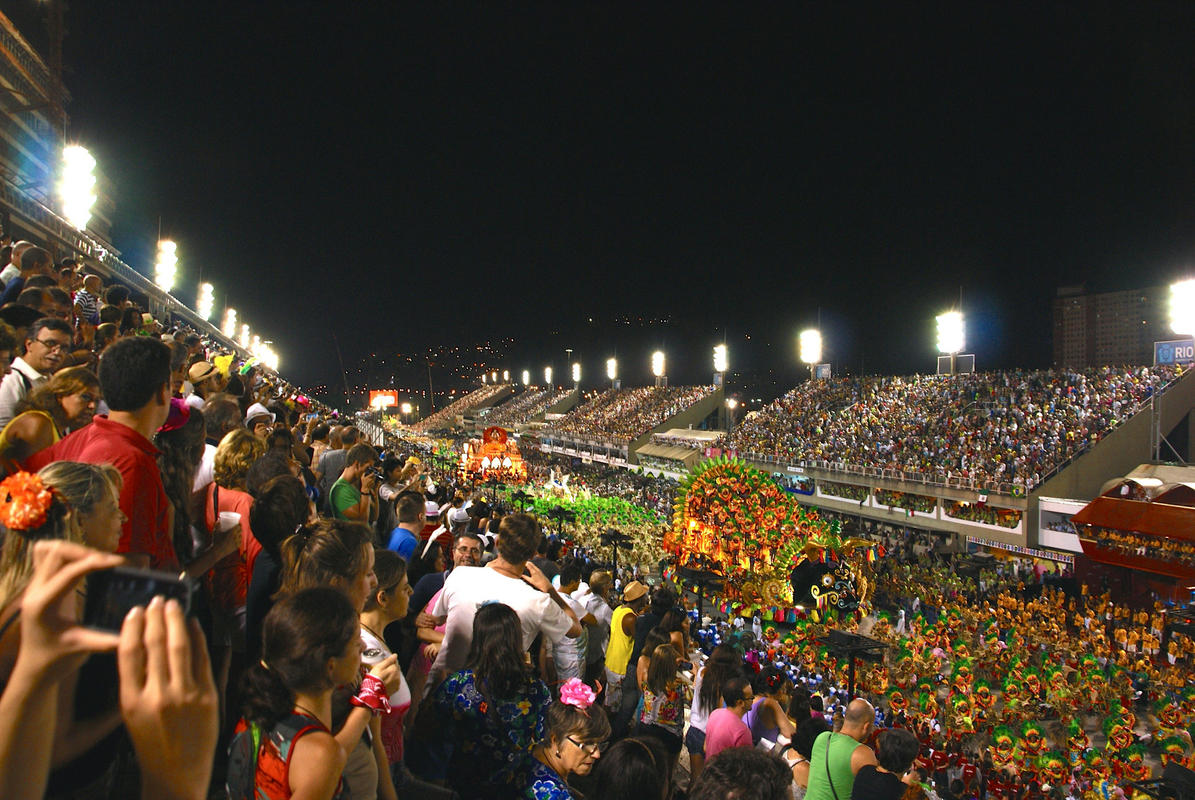 """Rio Sambadrome"" by Ben Tavener via Flickr Creative Commons"