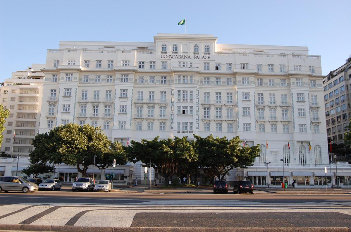 """""""Copacabana Palace Hotel, Rio de Janeiro"""" by Yusuke Kawasaki via Flickr Creative Commons"""