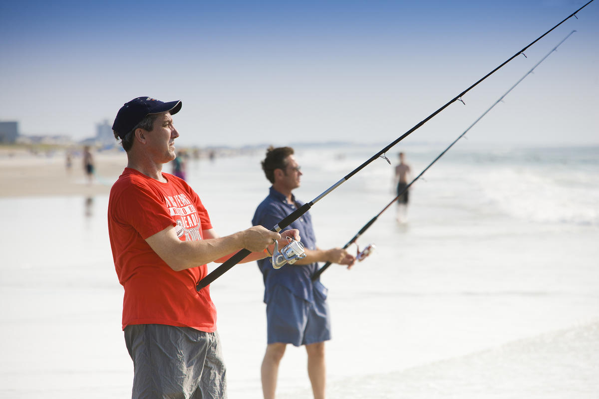 Fishing Photo by Wilmington and Beaches Convention & Visitors Bureau