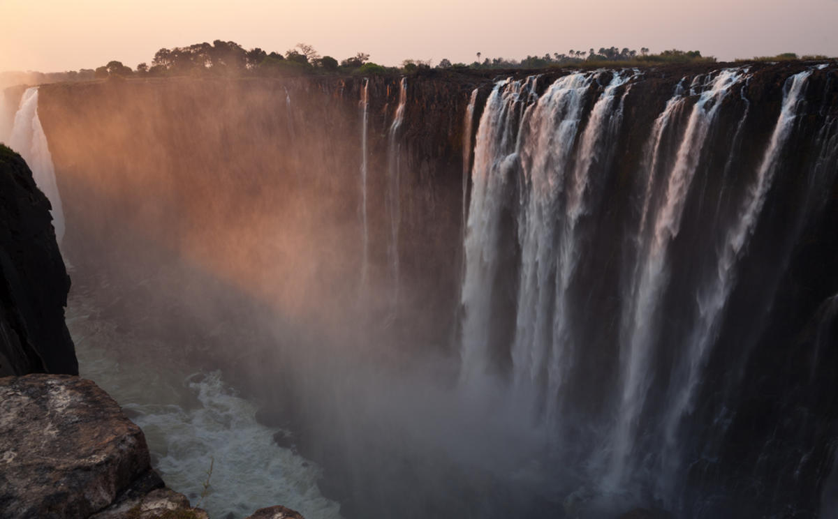 """Victoria Falls"" by Julien Lagarde via Flickr Creative Commons"
