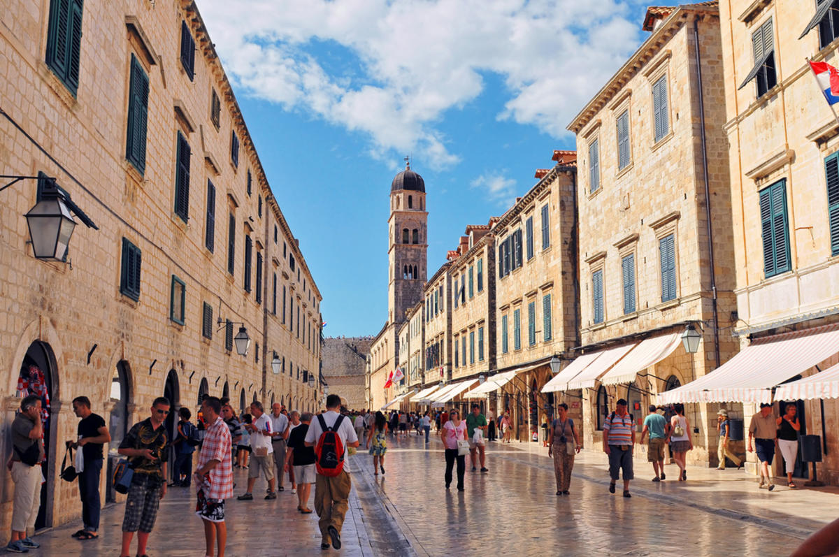 Main Street of Dubrovnik Photo by Tambako the Jaguar via Flickr Creative Commons