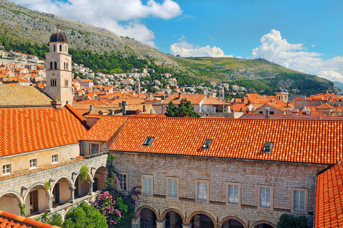 Beautiful houses of Dubrovnik Photo by Tambako The Jaguar via Flickr Creative Commons