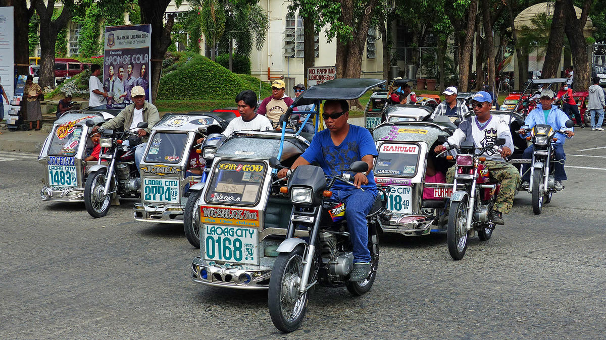 Laoag Transport. Philippines. by Bernard Spragg. NZ via Flickr Creative Commons