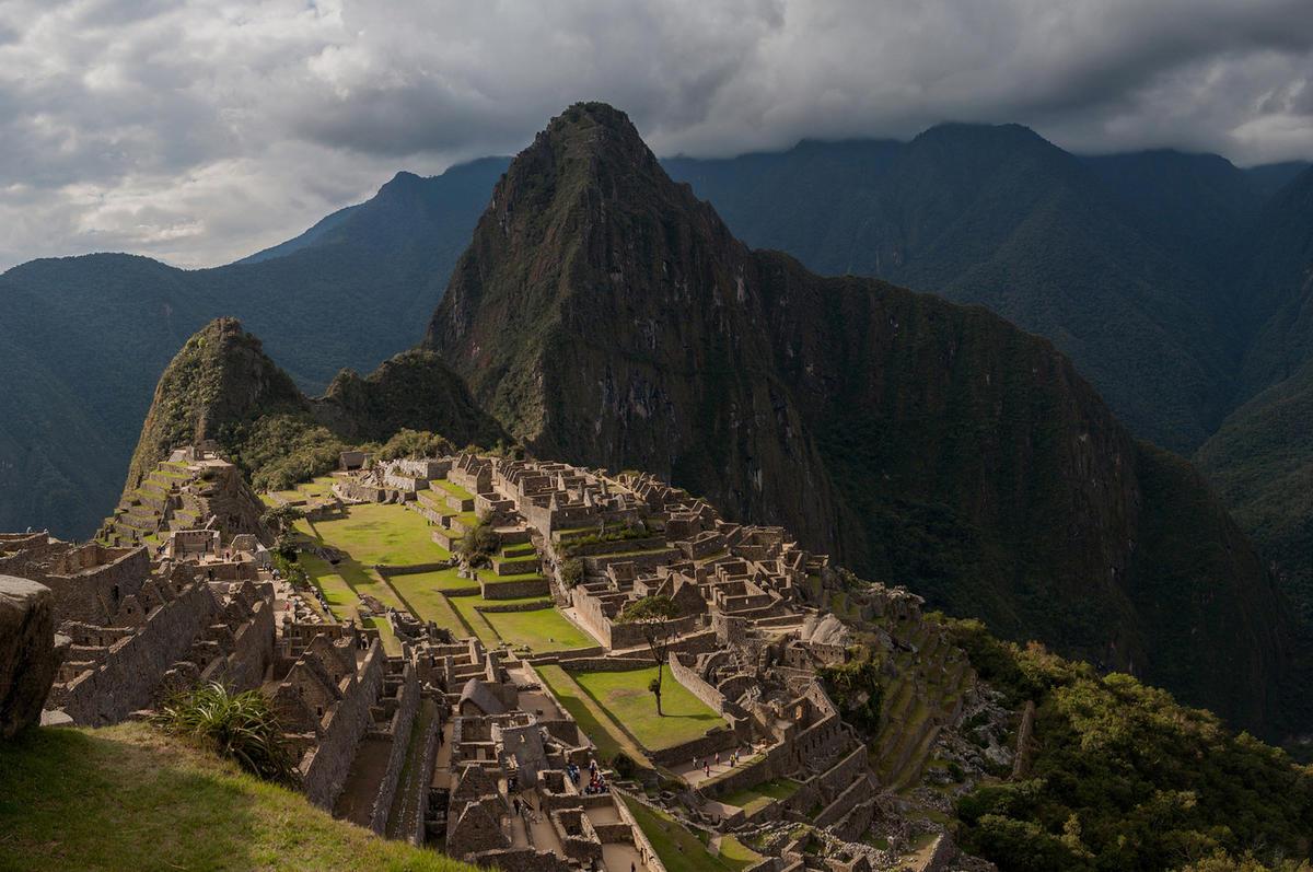 Machu Picchu set against the backdrop of Huayna Picchu, Peru by sandeepachetan.com travel photography via Flickr Creative Commons