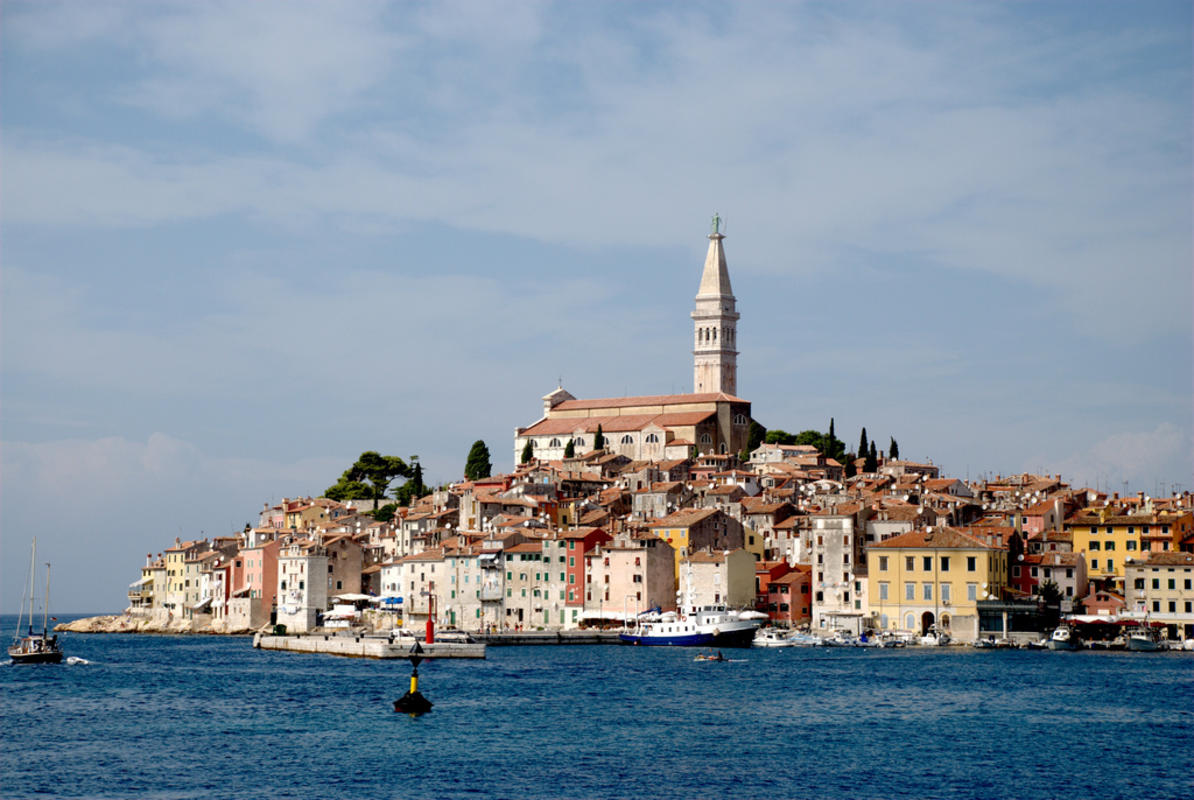 Sea view. Rovinj, Croatia Photo by Andrey via Flickr Creative Commons