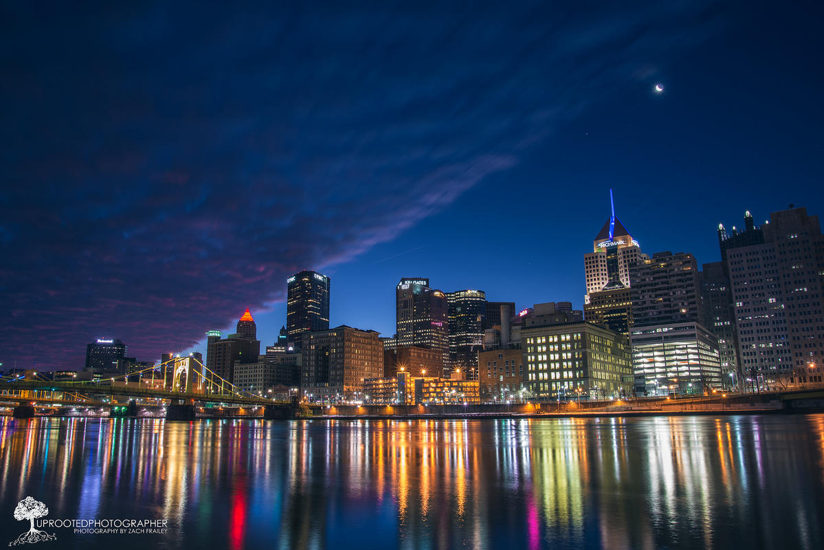 Dawn Rising | Pittsburgh, PA by Zach Frailey via Flickr Creative Commons