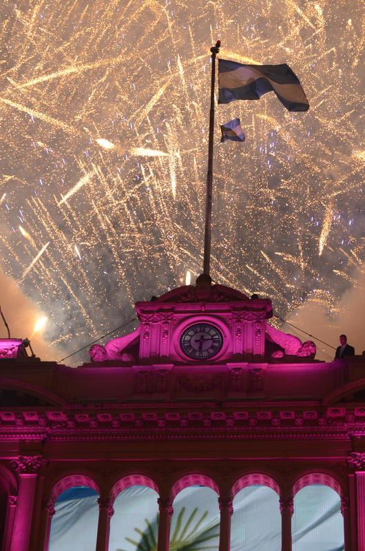 Festejos por el 203° aniversario de la Revolución de Mayo by Ministerio de Cultura de la Nación Argentina via Flickr Creative Commons