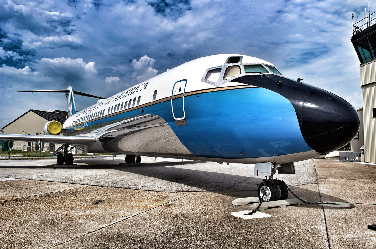 VC-9C Air Force 2 Photo by Jeffrey via Flickr Creative Commons