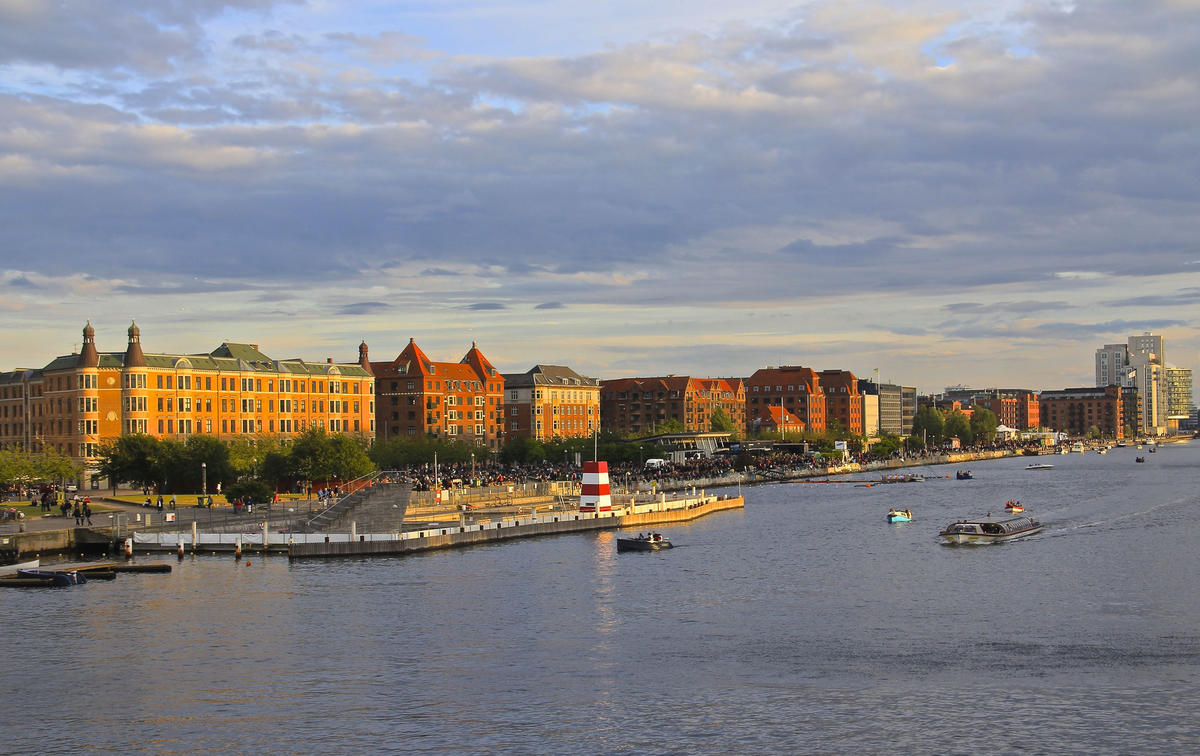 buildings along the river near Island Brygge, Copehhagen, Denmark Photo by james j8246 via Flickr Creative Commons