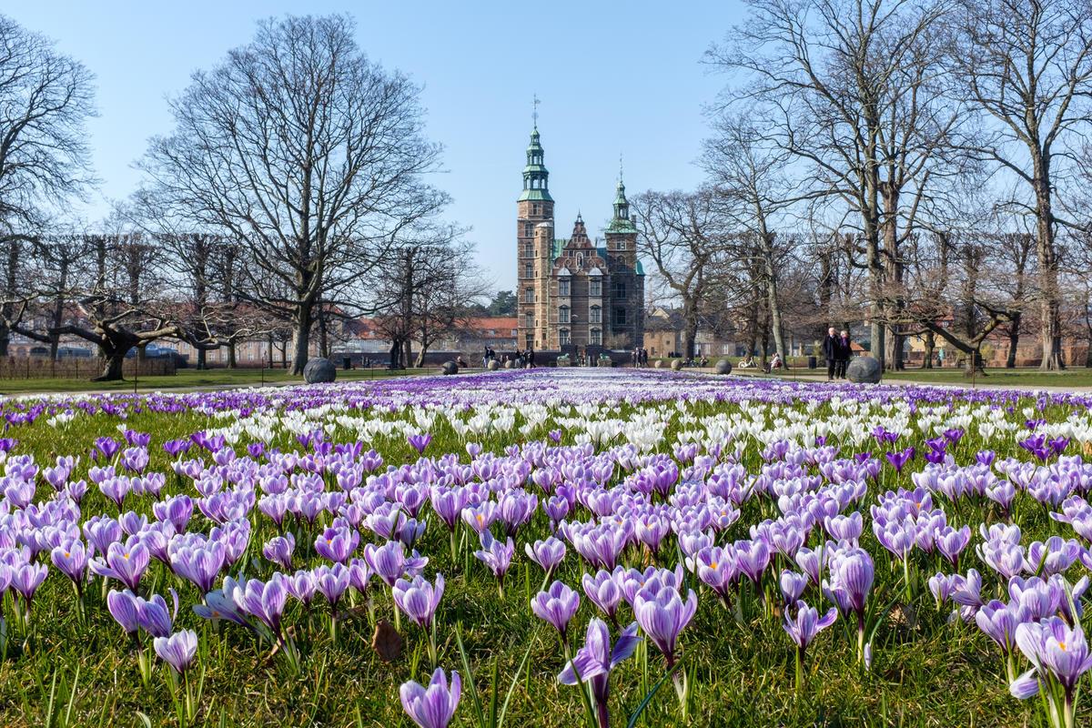 Spring in Kongens Have, Copenhagen Photo by Kristoffer Trolle via Flickr Creative Commons