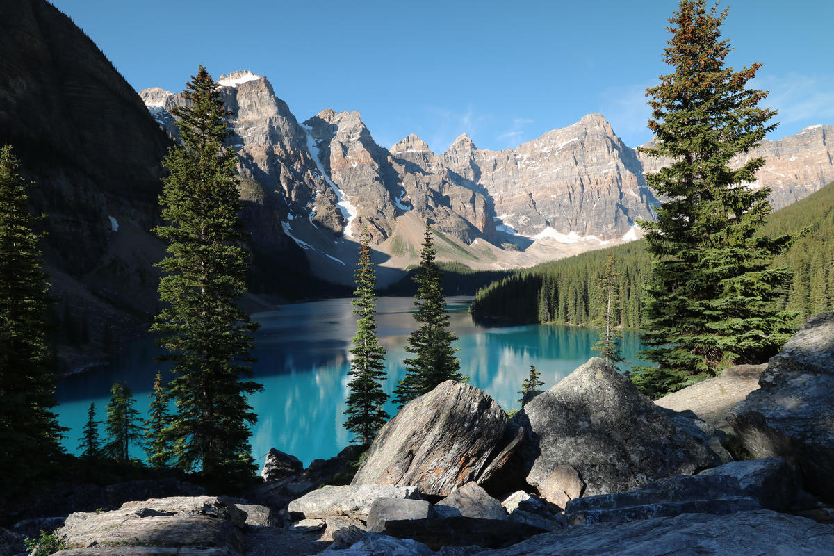 Moraine Lake Alberta Canada Photo by Go to Thank you for visiting my page via Flickr Creative Commons