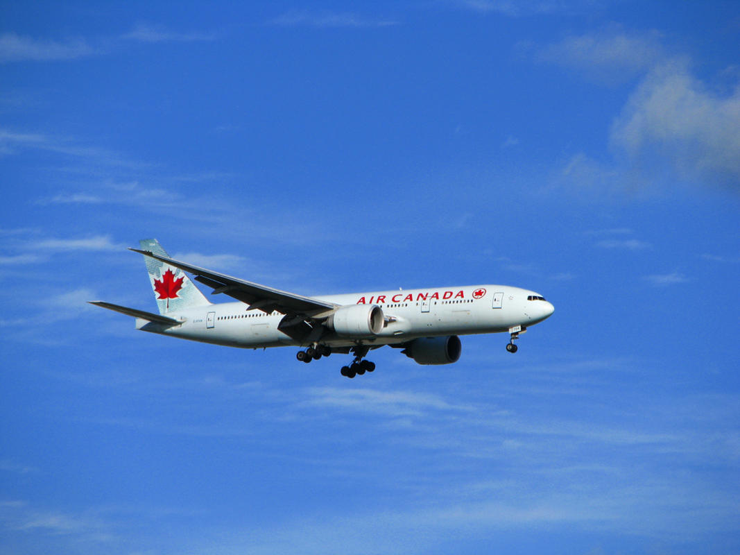 Air Canada Photo by Michael Gil via Flickr Creative Commons