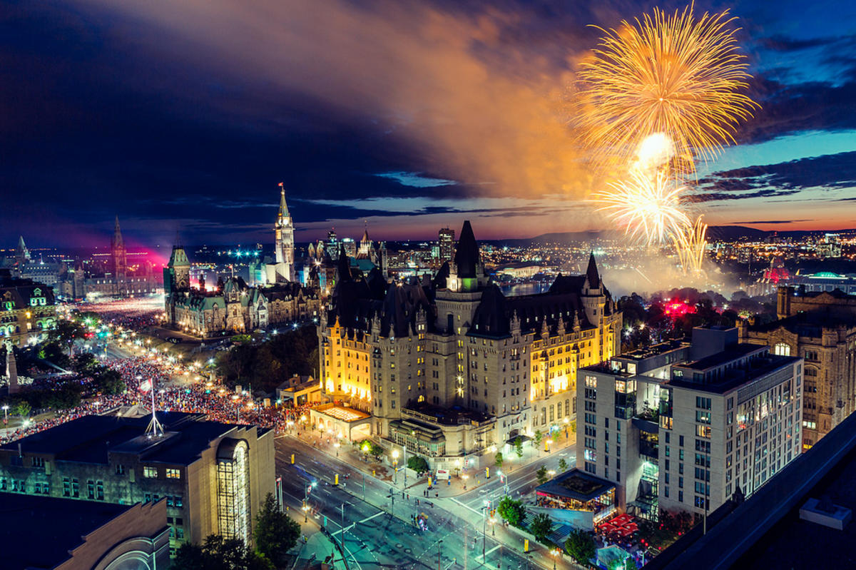 Ottawa Fireworks, Canada Day 2012 Photo by Joel Bedford via Flickr Creative Commons
