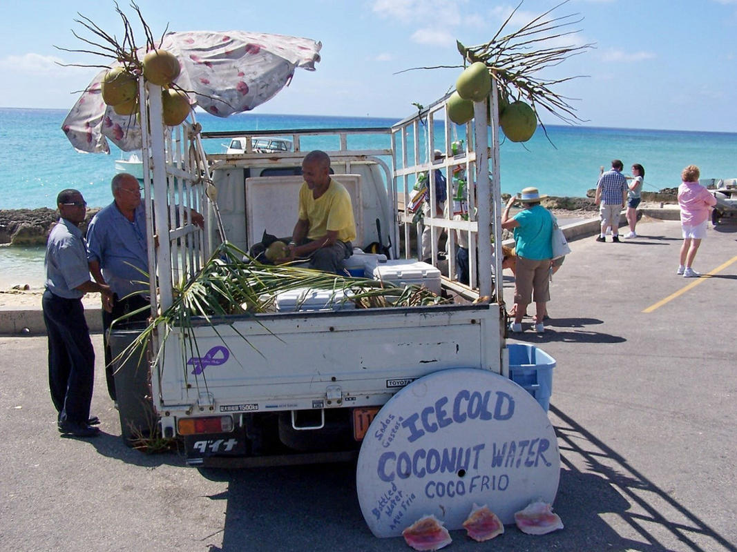 Ice Cold Coconut Water Photo by J. Stephen Conn via Flickr Creative Commons